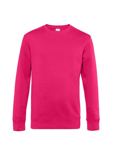 O82•B&C KING CREW NECK, 2XL, magenta pink (28)
