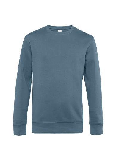 O82•B&C KING CREW NECK, 2XL, nordic blue (29)
