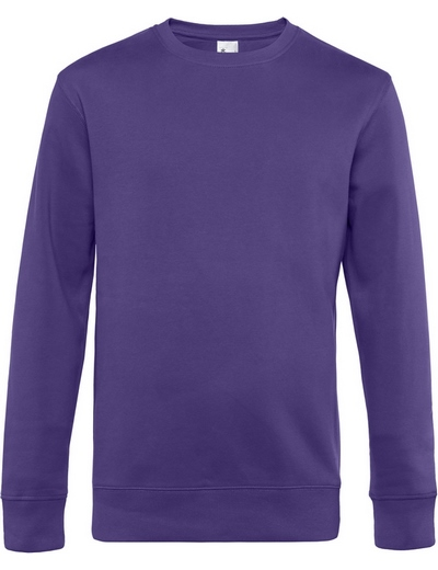 O82•B&C KING CREW NECK, 2XL, radiant purple (62)
