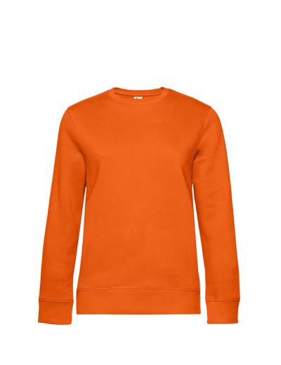 O83•B&C QUEEN CREW NECK, 2XL, pure orange (10)