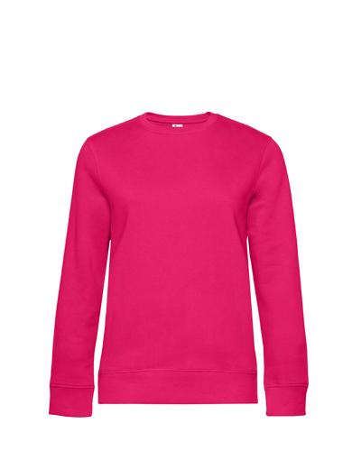 O83•B&C QUEEN CREW NECK, 2XL, magenta pink (28)