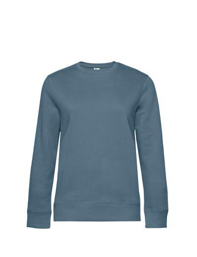 O83•B&C QUEEN CREW NECK, 2XL, nordic blue (29)