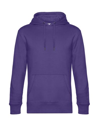O84•B&C KING HOODED, 2XL, radiant purple (62)