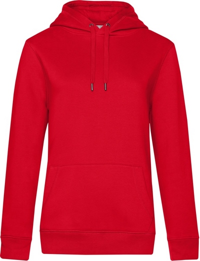 O85•B&C QUEEN HOODED, 2XL, red (05)