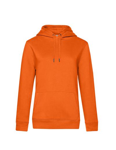 O85•B&C QUEEN HOODED, 2XL, pure orange (10)