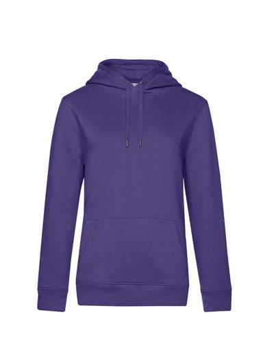O85•B&C QUEEN HOODED, 2XL, radiant purple (62)